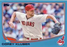 2013 Topps Update COREY KLUBER Walmart Blue Rookie Indians #US105 QTY Avail