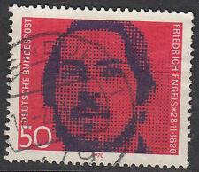 Briefmarke 1970 BRD Bund 657 gestempelt Rundstempel Luxus Geburtstag Engels
