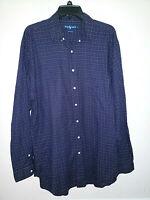 Mens Polo Ralph Lauren Long Sleeve Button Up Plaid Shirt Size LT Large L Tall
