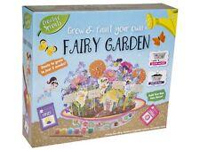 Childrens Grow & Paint Your Own Fairy Garden Summer Flower House DIY Craft Kit