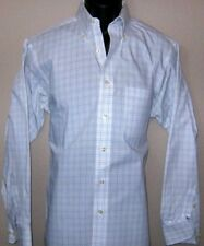 Chaps Men's Casual Dress Shirt Size Medium Med M Wrinkle Free Long Sleeve