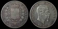 pci913) Regno Vittorio Emanuele II  lire 5 scudo 1878