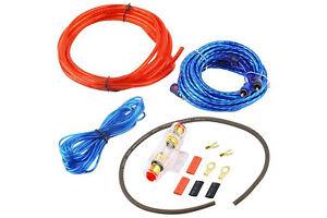 Kit cavi audio RCA installazione amplificatore auto subwoofer cablaggio cavo DR