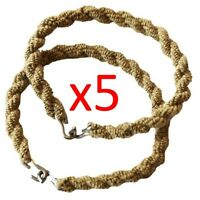 5 PAIRS ARMY TROUSER TWISTERS MTP TWISTS TWISTIES HIKING CADET SOLDIER COYOTE