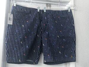 Polo Ralph Lauren Shorts 2XB Mens Waist 44 Inches Sailboat