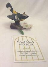Franklin Mint Magnolia Warbler Po