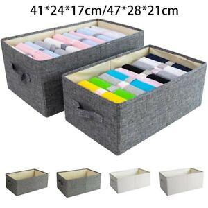 Aufbewahrungsbox Faltbar Aufbewahrungs Korb Stoff Faltbox Organizer