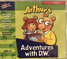 Arthur's Adventures With D.W. Pc New XP Storytelling Vocabulary Pre-Reading