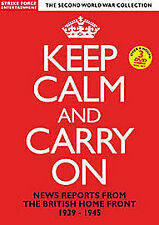 Keep Calm And Carry On News Reports From The British Home Front 1939-45 3 x DVD