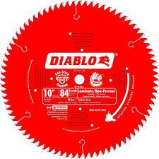 "10"" x 84 Tooth Diablo TCG Blade Freud D1084L New"