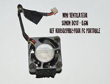 MINI VENTILATEUR SUNON DC5V - 0.6W REF 0502PHB2-8 TM