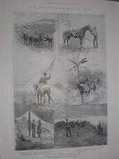 Spanish American War Battle of San Juan santiago de Cuba 1898 old print