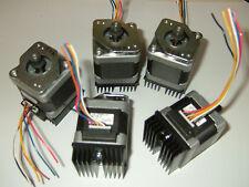 5 X Nema 17 Stepper Motor X Mill Robot Reprap Makerbot Prusa 3d Printer Heatsink