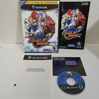 Sonic Adventure 2 Battle (GameCube, 2002) CIB Complete with Disc Manual Art SEGA