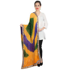 Scarf Traditional indian scarves long stole shawl chunni scarf Multi