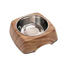 KARLIE - Comedero kulho Wood Alerce - 700 ml - bebedero para Perro Gatos