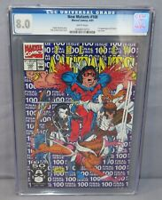 NEW MUTANTS #100 (X-Force 1st app) CGC 8.0 VF White Pages Marvel Comics 1991