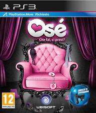 Os'e - Che Fai, Ci Provi? (Playstation Move) PS3 Playstation 3 IT IMPORT UBISOFT