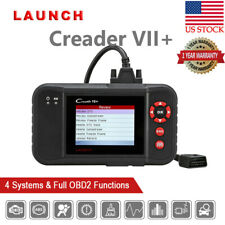 LAUNCH X431 Creader VII+ OBD2 Diagnostic Tool Auto Scanner Engine AT ABS Airbag