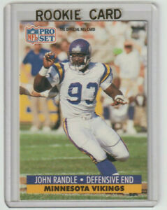 JOHN RANDLE Vikings 1991 Pro Set #835 SP RC Mint ONLY ROOKIE CARD PSA BGS Ready