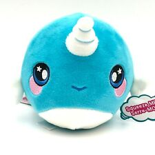 Squeezamals Nadia Narwhal 3.5� Scented Squishy Plush Series 2 Toy