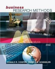 Business Research Methods with Student CD-ROM by Cooper, Donald R, Schindler, P
