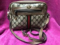 Vintage Gucci Crossbody Ophidia GG Supreme Canvas Beige Collection EUC