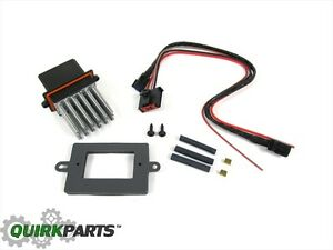Jeep Dodge Chrysler With Auto Temp BLOWER MOTOR RESISTOR & WIRING KIT MOPAR OEM