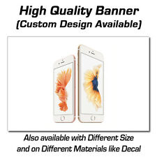 3ft x 2ft iPhone 6 Sign - Popup or Decal