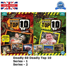 Deadly 60 Deadly Top 10 -Series 1-2 (2013) Complete 2 Disc Box Set NEW UK R2 DVD