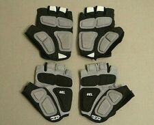 PEARL IZUMI WOMEN'S SIZE LARGE CYCLING RIDING GLOVES BLACK TWO PAIRS - NICE!!!