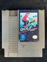 Golf Nintendo Entertainment System NES 1985 Game Cartridge Cleaned and Tested