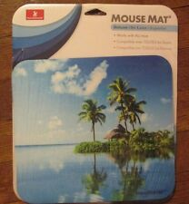 Mouse Pad Mouse Mat-Deluxe Beach Scene Island Escape ~NEW~