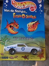 HOT WHEELS  LIMITED EDITION 67 MUSTANG, VAN DE KAMP'S FISH-O-SAURS