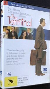 The Terminal - 2 Disc DVD Set - Region 4 - PAL - Very Good Condition - Free Post