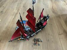 Lego Pirates of the Caribbean 4195 Queen Anne's Revenge 100% COMPLETE w/ instr