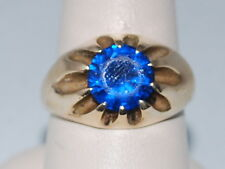 10k Gold ring with Blue Sapphire(September birthstone)