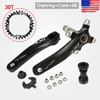 IXF 30T MTB Bike Crankset BB 104bcd Narrow Wide Chainring 170mm Single Crank CNC