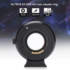 VILTROX EF-EOS M2 Auto Focus Mount Adapter 0.71X for Canon EF to Canon EOS-M