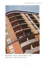 1956 Balcony Flats In Judd Street Wc1 Denys Clarke Hall