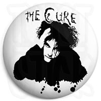The Cure - Robert Smith - 25mm Goth / Emo Button Badge with Fridge Magnet Option