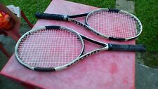 2 Raquetas de Nieve De Tenis Wilson Hammer 6L 4 Raqueta Vintage