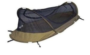 Iguana Bednet Tent PopUp Coyote Brown Pre Treated with Insect Repellent
