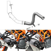 Eliminator Exhaust Mid Link Pipe For KTM RC125 RC390 DUKE 125 390 2017 2018 2019