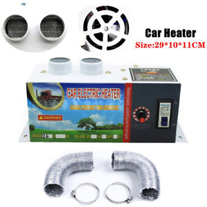 24V Electric Car Heater 800W Heating Fan Defogger Defroster Demister Part Kits