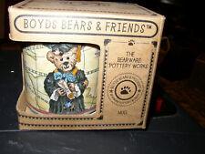Boyds Bears Mug Graduation Collectors Bearware Pottery Coffee Mug Nib Never Used