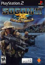 Socom II Us Navy Seals PS2 Playstation 2 Game Complete