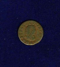 FRANCE  LOUIS XIV  1649-A  DENIER-TOURNOIS COPPER COIN, PARIS MINT, VF+