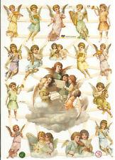 1 Bogen Glanzbilder Engel ef 7370 Nr.344