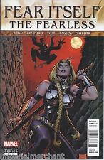 Fear Itself Comic Issue 2 The Fearless Modern Age First Print 2011 Bunn Fraction